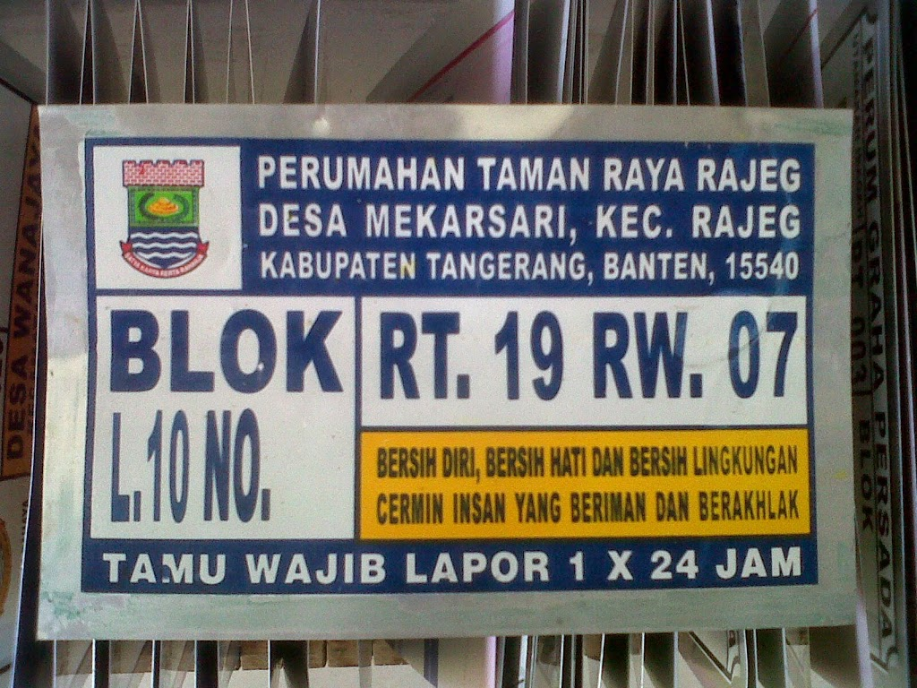 LAYANAN JASA CETAK NOMOR RUMAH TERMURAH DI Bandar Lampung Lampung Sumatera